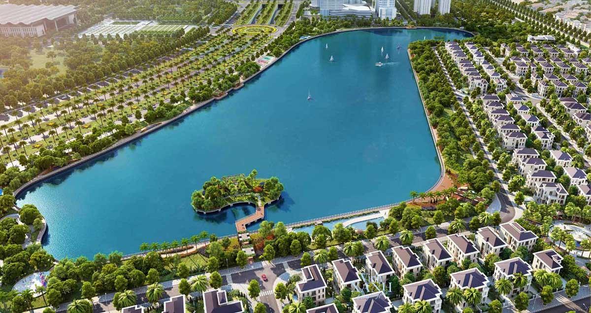 biển hồ dự án vinhomes hạ long xanh quảng ninh